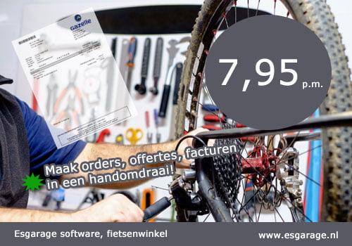 Kassa software fietsenwinkel