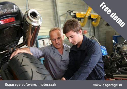 kassasysteem motorzaak, software motorzaak, garage software motorzaak