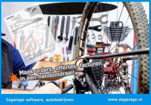 Fietsenwinkel kassa, kassasysteem fietsenwinkel, kassa software fietsenwinkel