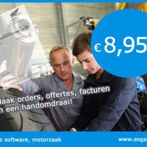 kassa software motorzaak, kassasysteem motorzaak, motorzaak kassa programma