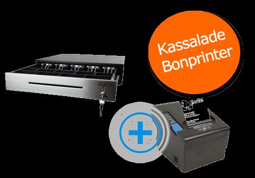 kassalade + bonprinter garage software, fietsenwinkel kassalade